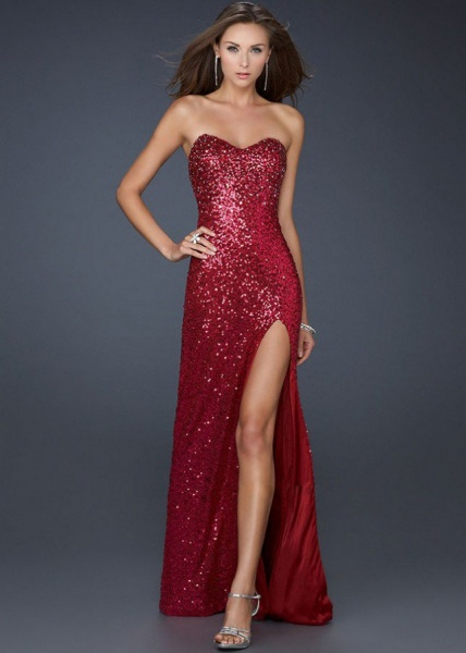 Full-Sequins-Red-Strapless-Evening-Gown-With-Slit-640x896